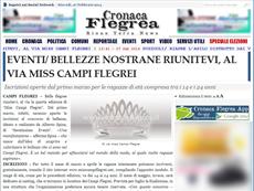 Cronaca Flegrea - Miss Campi Flegrei
