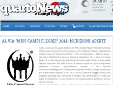 QuartoNews - Miss Campi Flegrei