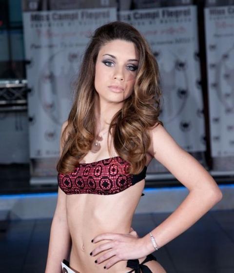 Lucrezia Perreca - Miss Campi Flegrei 2014