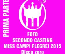 0 PRIMA PARTE COPERTINA SECONDO CASTING MISS CAMPI FLEGREI 2015