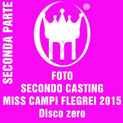 copertina seconda parte casting miss campi flegrei