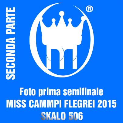 1 copertina SECONDA  parte SEMIFINALI 2015 MISS CAMPI FLEGREI